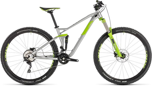 "Cube Stereo 120 Pro 29er - Nearly New - 16"" 2019 - Trail Full Suspension MTB Bike"