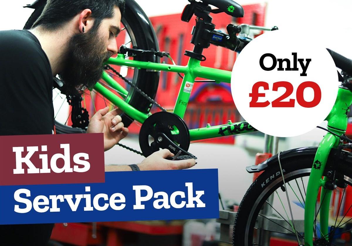 Tredz Kids Bike Service Pack   City