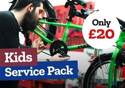 Tredz Kids Bike Service Pack