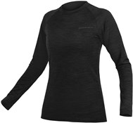 Product image for Endura BaaBaa Blend Womens Long Sleeve Cycling Base Layer