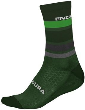 Endura BaaBaa Merino Stripe Cycling Socks II - 1-Pack