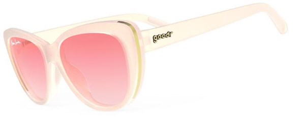 Goodr Stop and Smell the Rosé - Runway Sunglasses