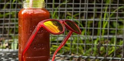 Goodr Phoenix at a Bloody Mary Bar - The OG Sunglasses