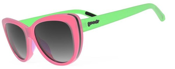 Goodr My Cateyes Are Up Here - Runway Sunglasses