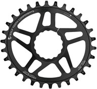 Product image for Wolf Tooth Elliptical Direct Mount Chainring for Race Face Cinch for Shimano 12spd Chain