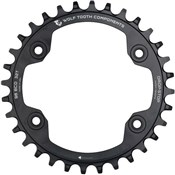 Product image for Wolf Tooth 96 BCD Shimano Compact Triple Asymetrical Chainring