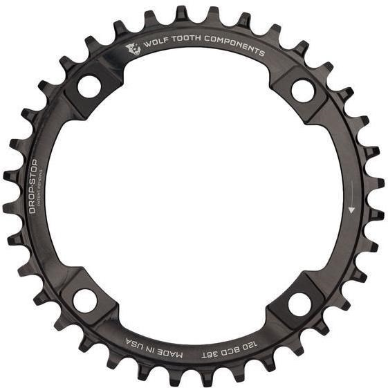 Wolf Tooth 110 BCD Asymetric 4-Bolt for Shimano Cranks Chainring | Klinger