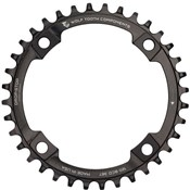 Wolf Tooth 110 BCD Asymetric 4-Bolt Chainring for Shimano Cranks