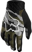 Fox Clothing Flexair Camo Long Finger Gloves