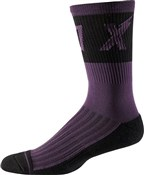 """Fox Clothing 8"""" Trail Cushion Socks Wurd"""