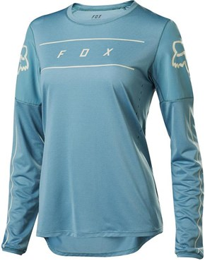 Fox Clothing Flexair Womens Long Sleeve Jersey