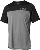 Product image for Fox Clothing Flexair Zip Short Sleeve Jersey