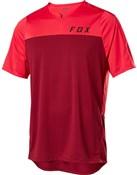 Fox Clothing Flexair Zip Short Sleeve Jersey