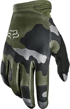 Fox Clothing Dirtpaw Przm Camo Youth Long Finger Gloves
