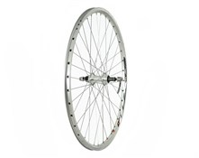 "Tru-Build 26"" Front MTB Wheel Mach1 MX Double Wall Disc Hub QR"