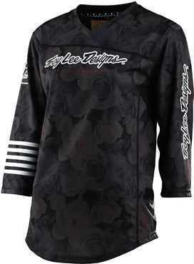Troy Lee Designs Mischief Womens 3/4 Sleeve Cycling Jersey