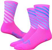 "Defeet Aireator 6"" Handlebar Mustache Decade Pro Socks"