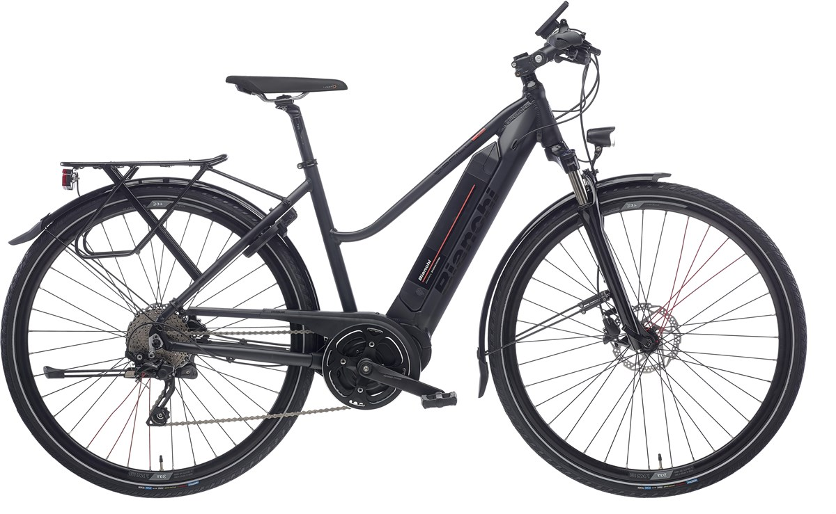 Bianchi E-Spillo Active FS Womens 2020 - Electric Hybrid Bike | City-cykler