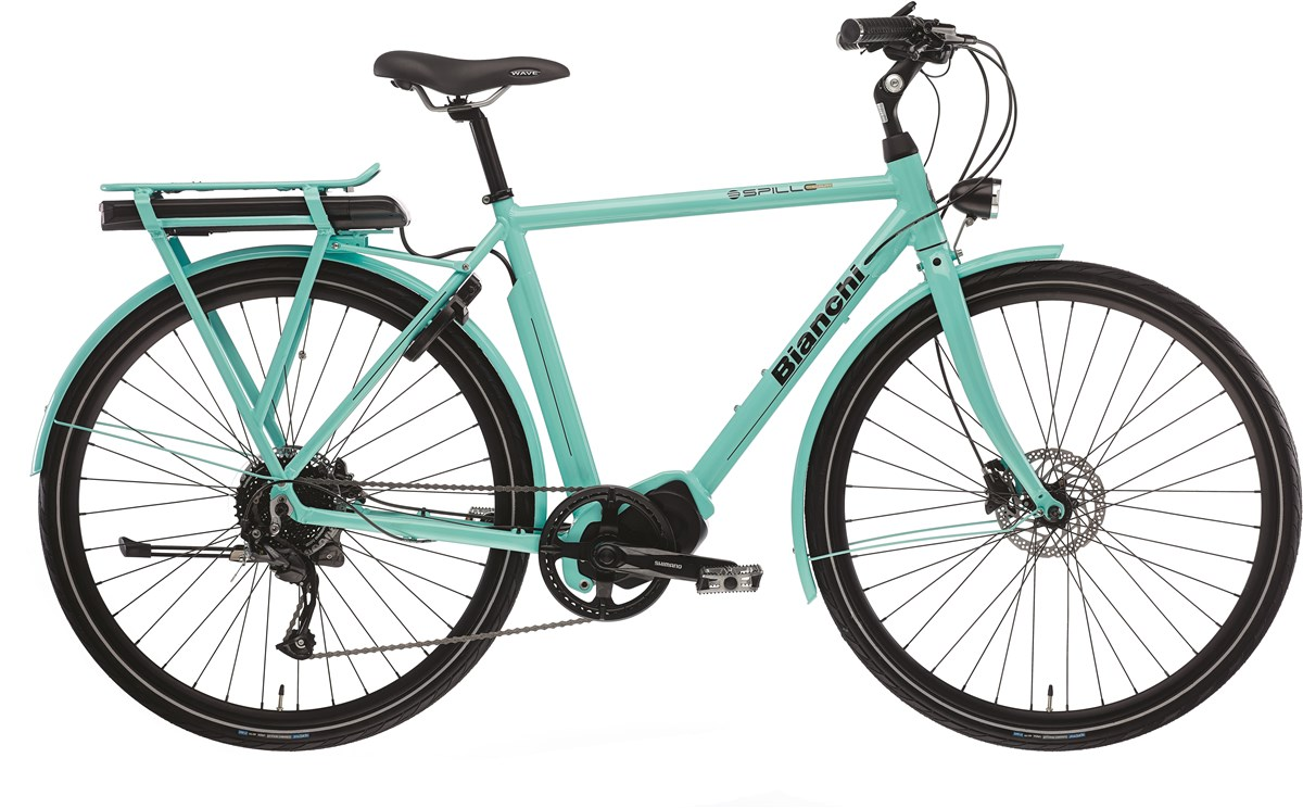 Bianchi E-Spillo Luxury 2020 - Electric Hybrid Bike | City-cykler
