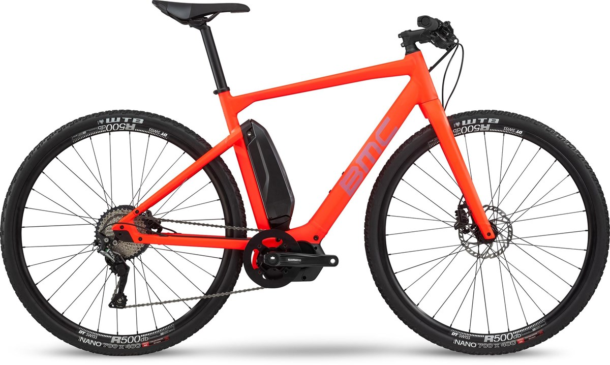 BMC Alpenchallenge AMP Cross Two 2020 - Electric Hybrid Bike | City