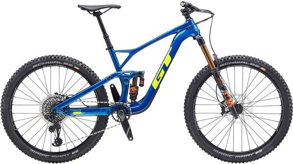 "GT Force Carbon Pro 27.5"" Mountain Bike 2020 - Enduro Full Suspension MTB"