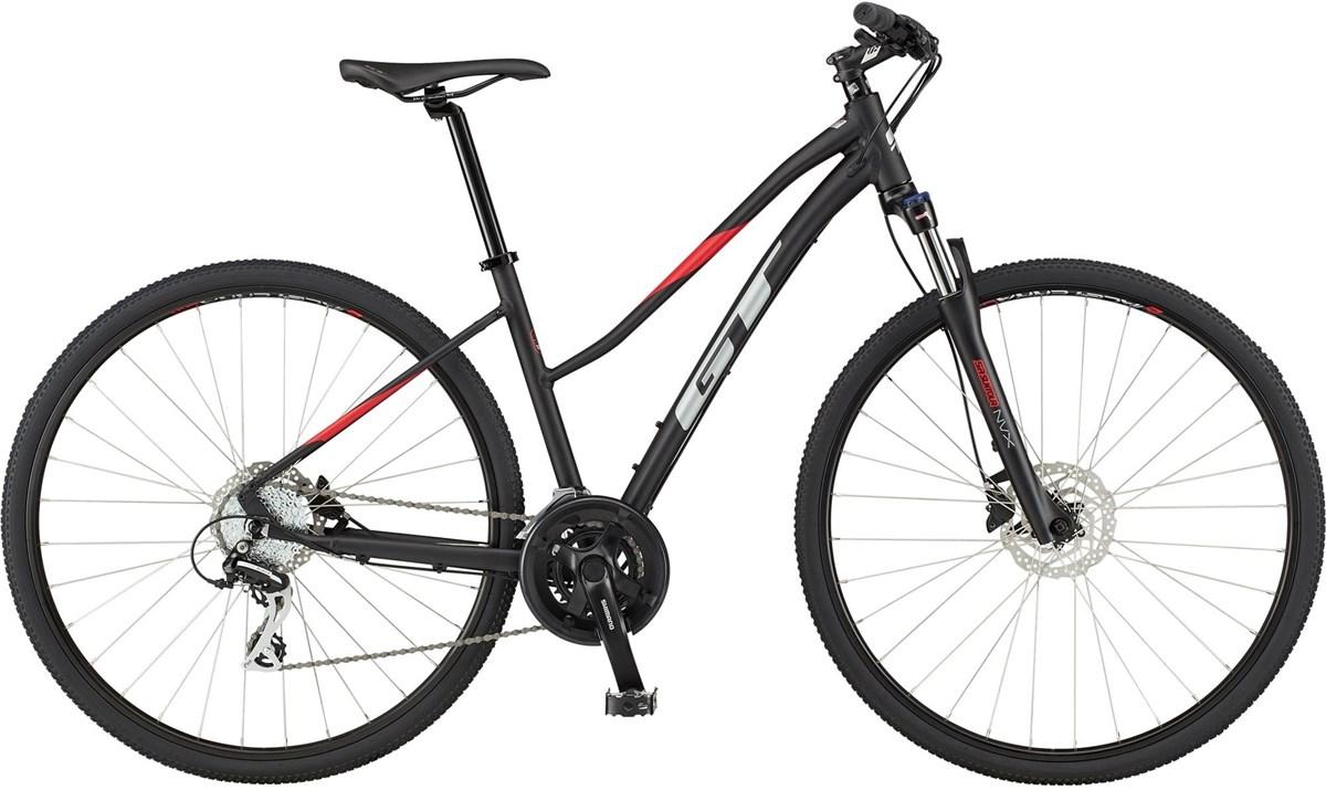 GT Transeo Elite Step-Thru 2020 - Hybrid Sports Bike | City-cykler