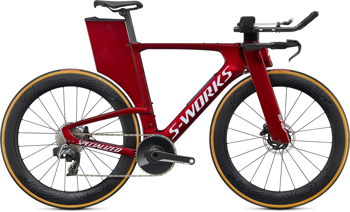 Specialized S-Works Shiv Disc Red eTAP AXS 2020 - Triathlon Bike | Tri og enkeltstart