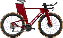 Product image for Specialized S-Works Shiv Disc Red eTAP AXS 2020 - Triathlon Bike