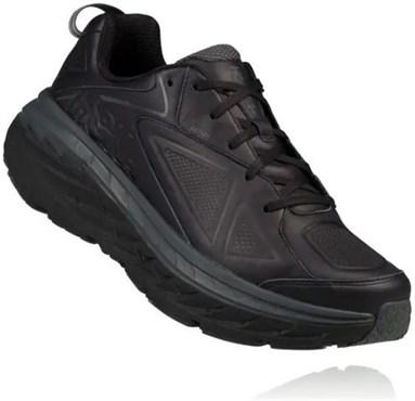 Hoka Bondi Leather Running Shoes