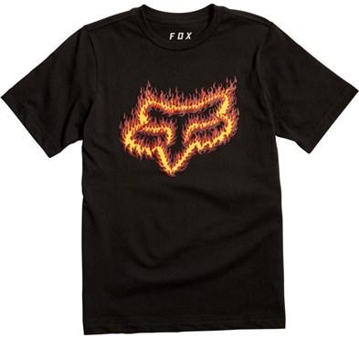 Fox Clothing Youth Flame Head Short Sleeve Tee