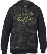 Product image for Fox Clothing Destrakt Camo Zip Fleece Hoodie