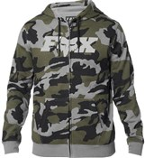 Fox Clothing Legacy F-Head-X Camo Zip Fleece Hoodie