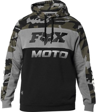 Fox Clothing Charger Camo Pullover Fleece Hoodie