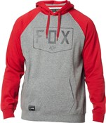 Fox Clothing Shield Raglan Pullover Fleece Hoodie