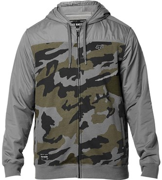 Fox Clothing Pivot Zip Fleece Hoodie