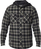Fox Clothing Avalon Hooded Flannel Shirt