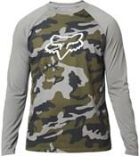 Fox Clothing Tournament Camo Long Sleeve Tech Tee