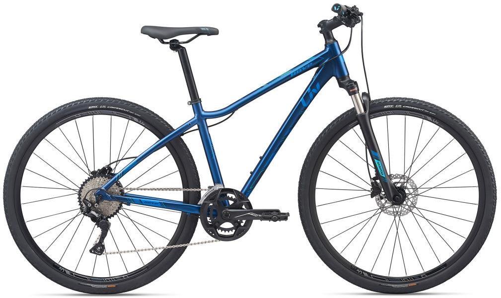 Liv Rove 1 Disc Womens 2020 - Hybrid Sports Bike | City