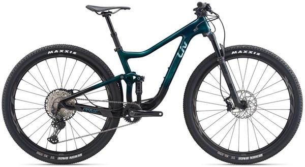"Liv Pique Advanced Pro 1 29"" Womens Mountain Bike 2020 - XC Full Suspension MTB"