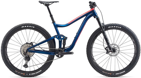 "Giant Trance 1 29"" Mountain Bike 2020 - Trail Full Suspension MTB"