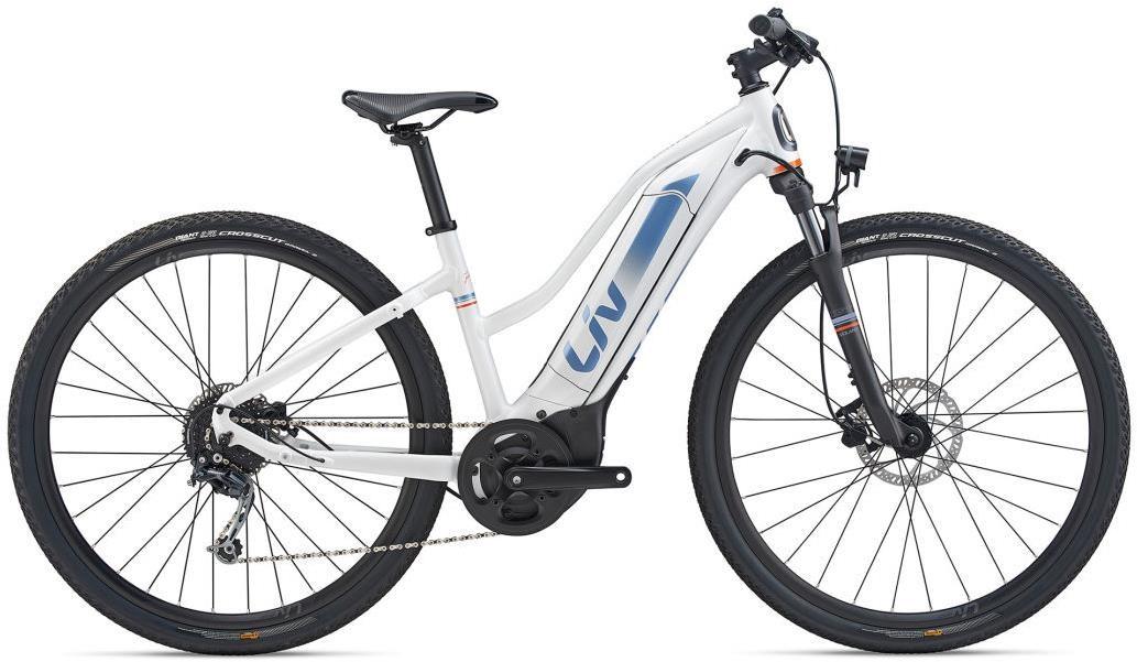 Liv Amiti-E+ 4 Womens 2020 - Electric Hybrid Bike | City
