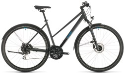 Cube Nature AllRoad Trapeze Womens 2020 - Hybrid Sports Bike