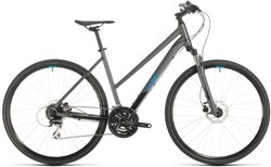 Cube Nature Trapeze Womens 2020 - Hybrid Sports Bike