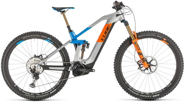 """Cube Stereo Hybrid  Action Team 140 HPC 625 29"""" 2020 - Electric Mountain Bike"""
