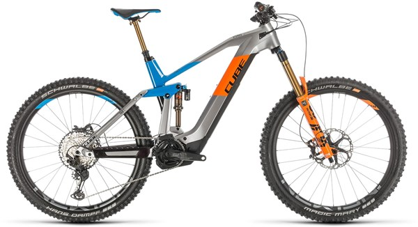 "Image of Cube Stereo Hybrid 160 HPC 625 27.5"" 2020 - Electric Mountain Bike"