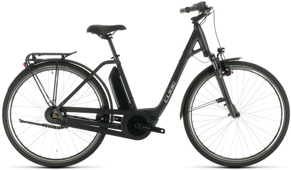 Cube Town Hybrid One 400 Easy Entry Womens 2020 - Electric Hybrid Bike | City-cykler