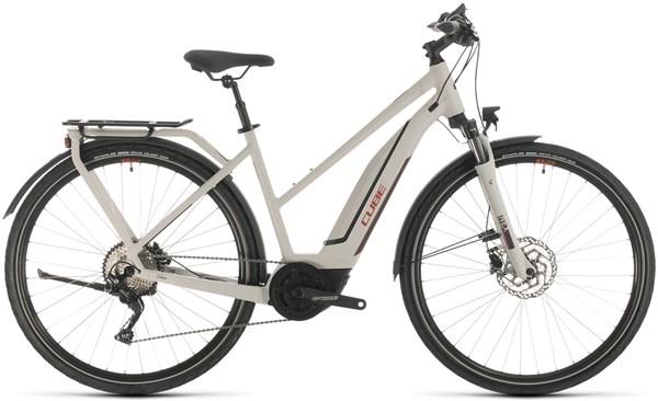 Cube Touring Hybrid Pro 500 Trapeze Womens 2020 - Electric Hybrid Bike | City-cykler