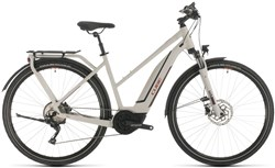 Product image for Cube Touring Hybrid Pro 500 Trapeze Womens 2020 - Electric Hybrid Bike