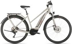 Cube Touring Hybrid Pro 500 Trapeze Womens 2020 - Electric Hybrid Bike