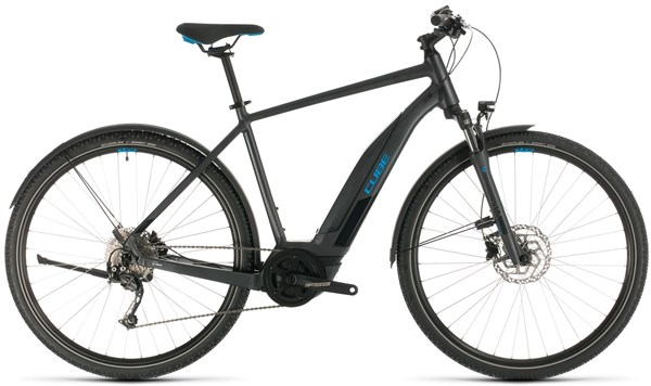 Cube Nature Hybrid One 400 AllRoad 2020 - Electric Hybrid Bike | City-cykler